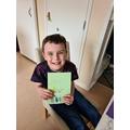 Alfie's Easter card