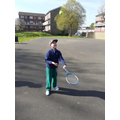 Vincent Playing Tennis