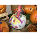 In the 'most magical' category we have Ruby's very beautiful unicorn pumpkin!