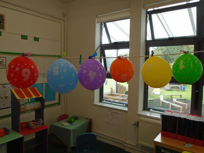Duckling Transition Balloons