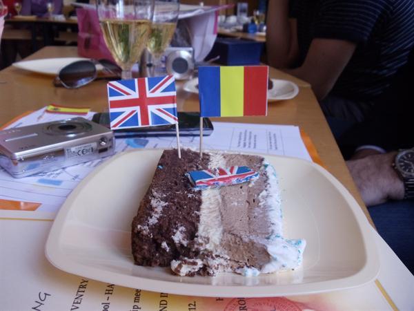 Comenius Cake in Romania!