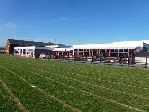 The school field