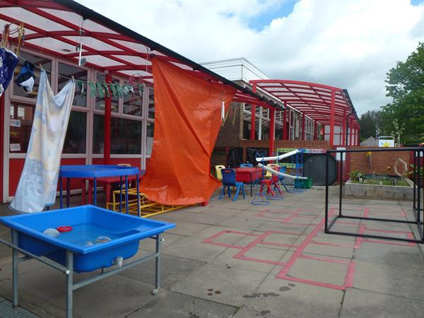 Year 2 Outdoor Area