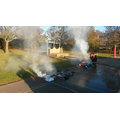 Year 2's 'Fire Fire' celebration