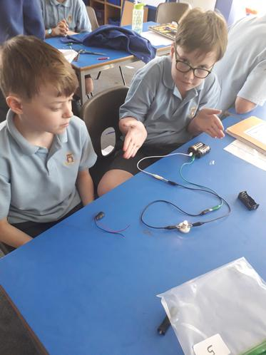 Our completed circuit!