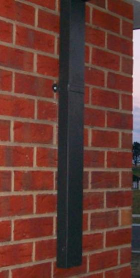 Downpipes doesn't have to be square