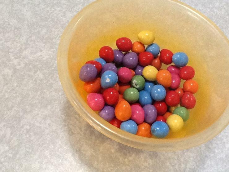 Colourful eggs.