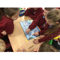 Playing a board game illustrating life as a carer2