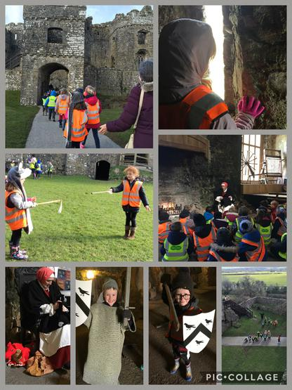Our AMAZING visit to Carew Castle!