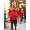 A dashing Mike the Knight!