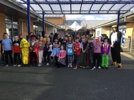 4H pupils who dressed up for WBD 2020!