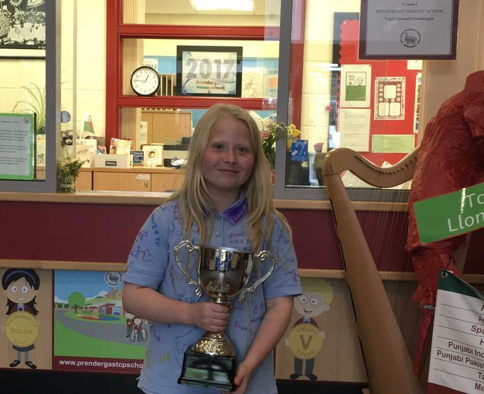Annika - outstanding academic achievement.