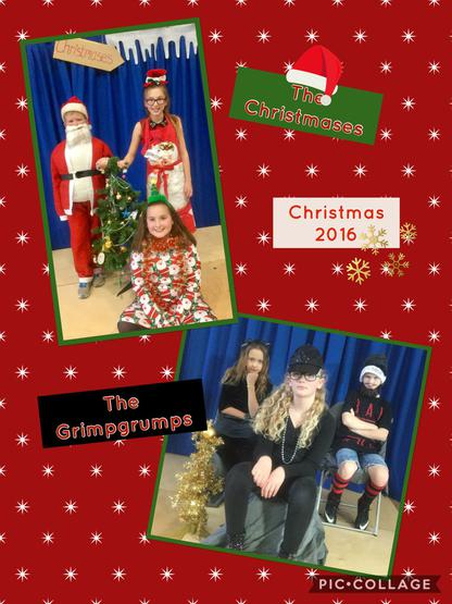 The Nasty Grimpgrumps & Festive Christmases.