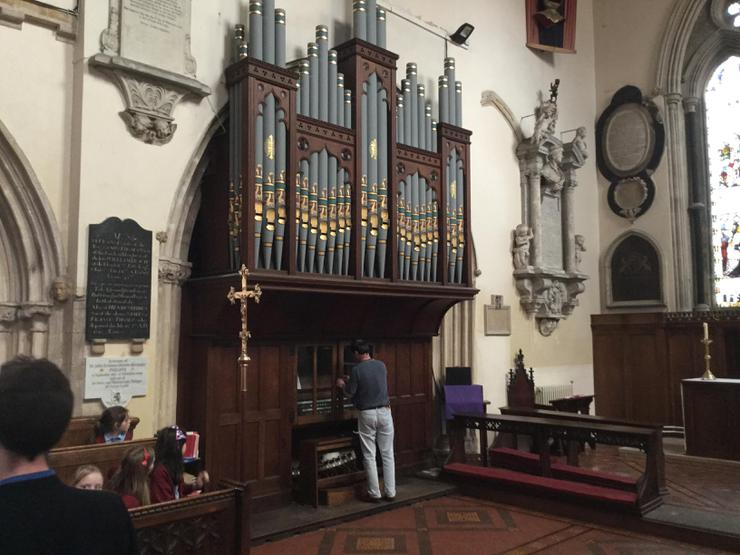 The oldest working organ in Wales
