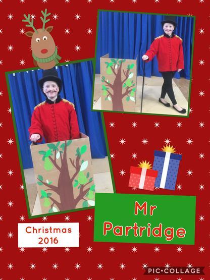 The Amazing Mr Partridge.