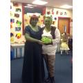 The award winning Shrek and Princess Fiona