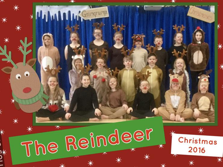 Father Christmas had 19 Reindeer helping him!