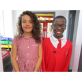Head Girl and Head Boy for May
