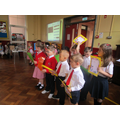 P1 Little Deers performing