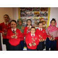Accelerated Reader Winners from each class