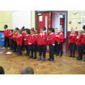 P1 Little Bears Performing at assembly