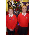Our headboy and Headgirl for December