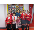Accelerated reader winners for June