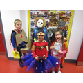 Ks 1 winners of homemade superhero costumes