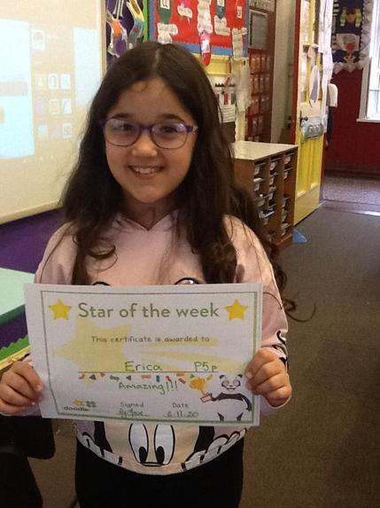 Erica- This weeks Doole Tables winner