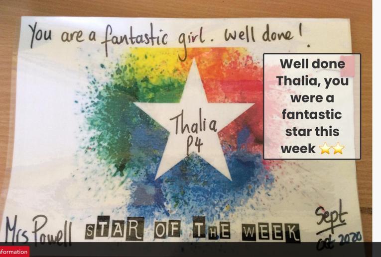 This weeks star
