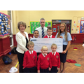 Credit Union presented us with £500