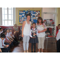 Gisela won the Endeavour award
