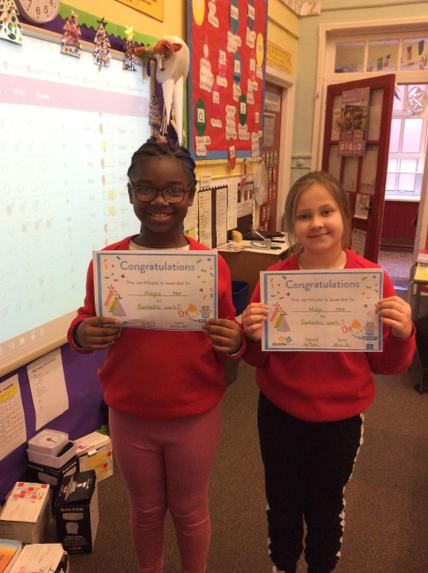 Doodle matrhs winners Maysa & Maja