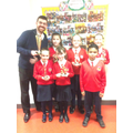 Accelerated reader awards and  P6 Cats BEST CLASS!