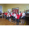 P5 Cats performing
