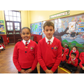 Our new head boy and girl