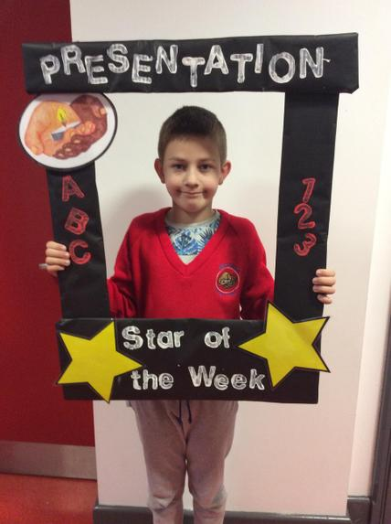 Elijus- Our new Star of the week