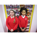 Head girl and head boy March 2018