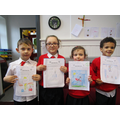 Winners of best fictional  characters from P1/2/3