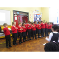 P3 Little ducks Performing