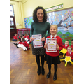 Best Attendance award for P5 and P6 Pups