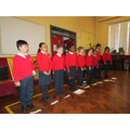 P4 Pandas performed at assembly