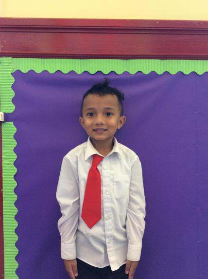 Well done Evaristo, you're our new star of the week.