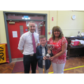 Ks 2 Mrs Hendron's Music award