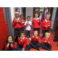 P1 Little Bears medal winners