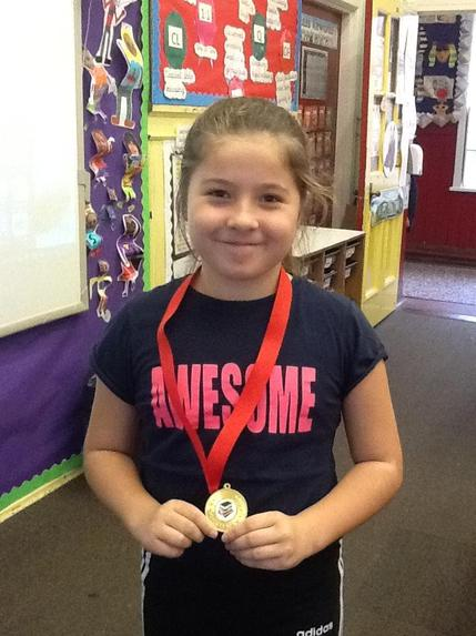 Lena -Accelerated Reading Winner for October