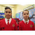 Our new head girl and head boy