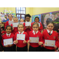 Individual class Doodle Maths Winners