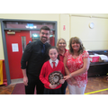 Sarah Mc Veigh award school life