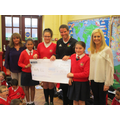SE council presented cheque to Healthy Kidz